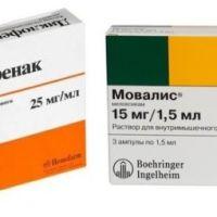 Диклофенак, Кеторол или Мовалис: чем лучше лечить остеохондроз
