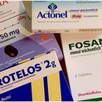 Характеристика препаратов для лечения остеопороза, относящихся к группе бисфосфонатов