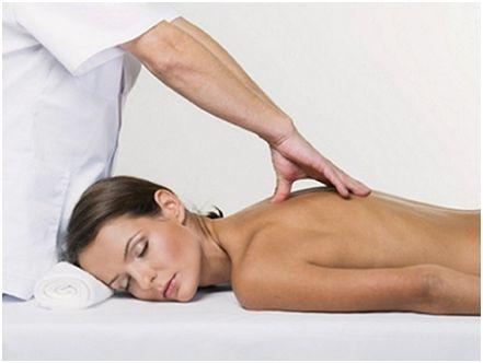 Лечение грыжи шморля массажем
