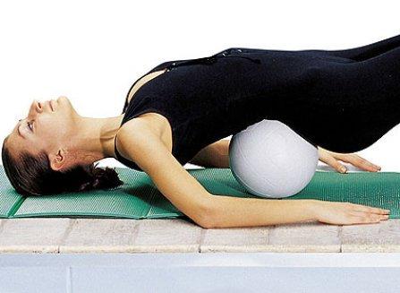 Упражнение для грудного отдела позвоночника