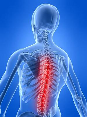 Симптомы болей в позвоночнике