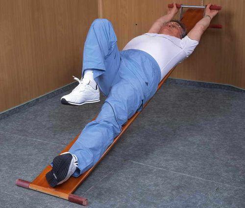 Упражнение при грыже позвоночника 1