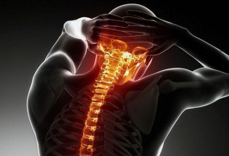 Признаки остеохондроза шейно-грудного отдела