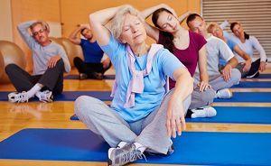 Полезная гимнастика при остеохондрозе