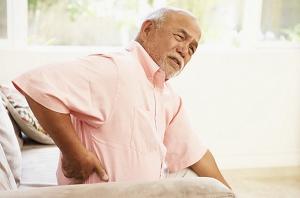 Склерозирование позвонков в старческом возрасте