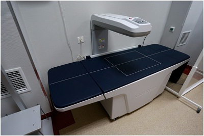 Денситометрия используется для диагностики остеопороза