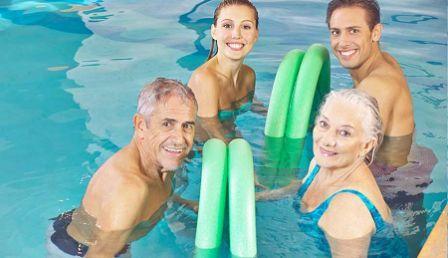 Занятия плаваньем полезны при остеохондрозе