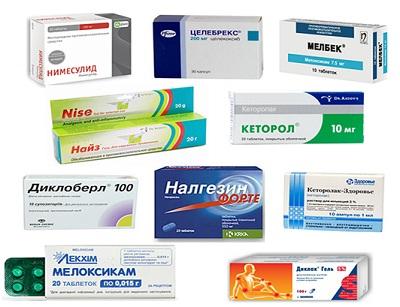 Нестероидные препараты в лечении остеохондроза