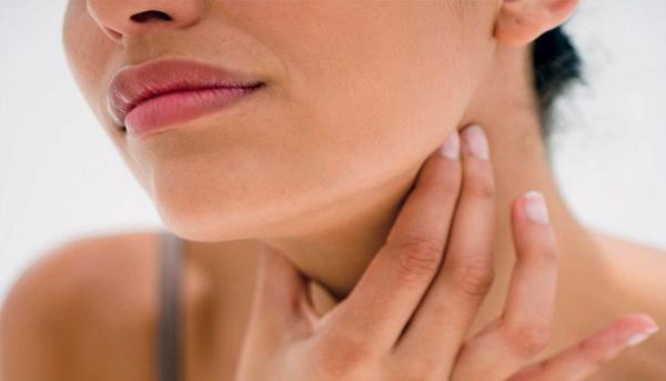 Болит горло при остехондрозе