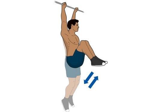 Упражнения при грыже позвоночника на турнике