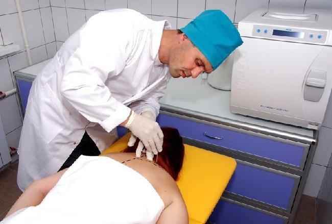Новокаиновые блокады при шейном остеохондрозе