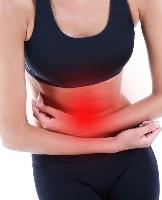 Боли в животе при остеохондрозе