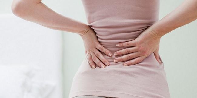 Болит спина справа или слева внизу и сзади спины у женщин